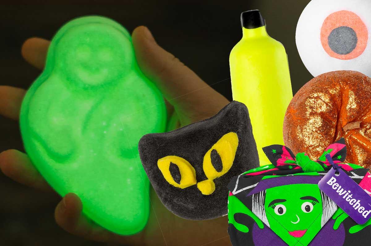 prodotti di Halloween di Lush