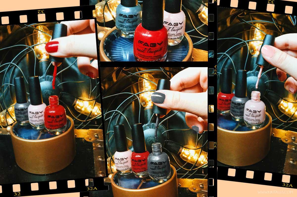 swatches faby diaries collezione smalti autunno inverno 2018 nail art unghie
