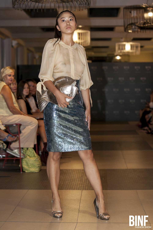 Violetta Nakhimova BINF fashion show settembre 2018