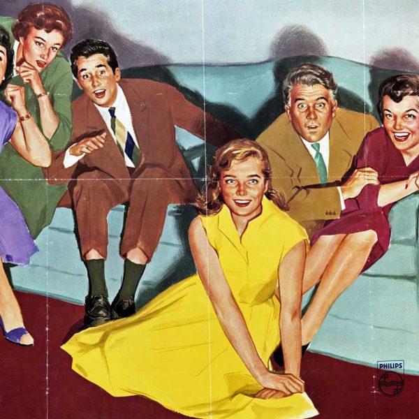 evoluzione del design della televisione negli anni