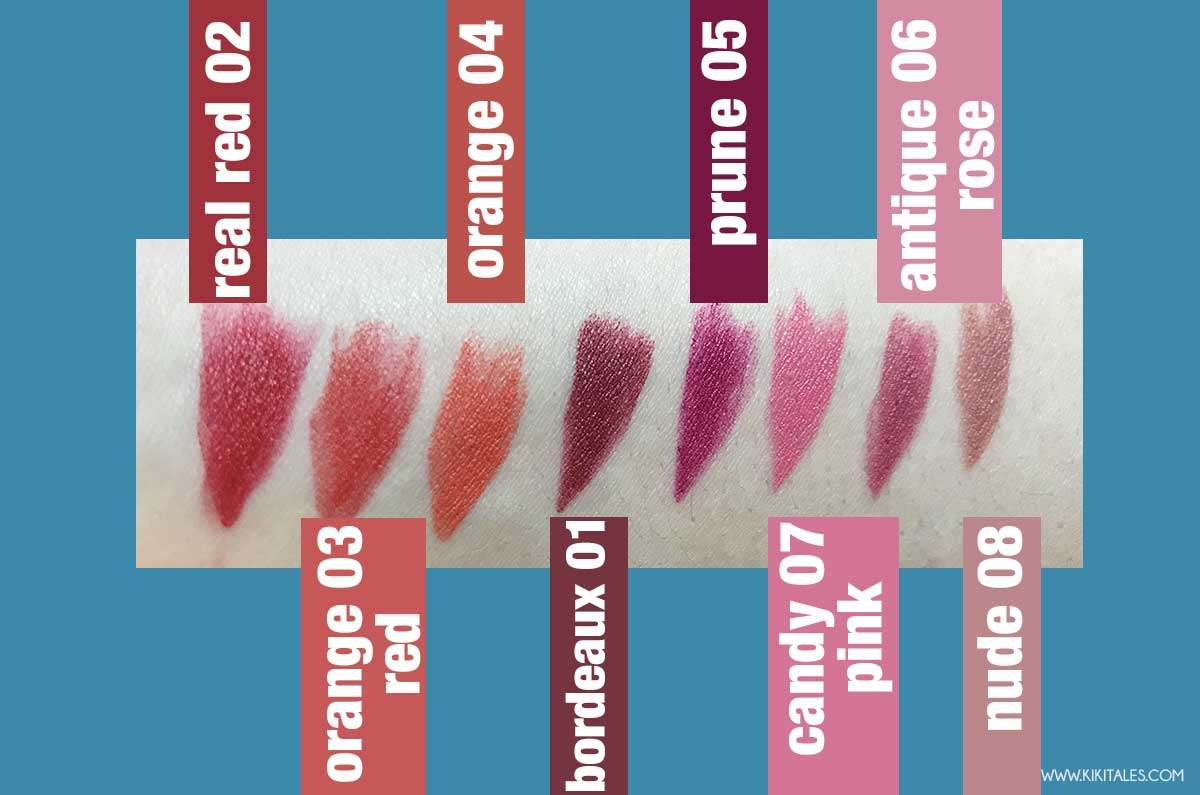 swatches rossetti miss broadway all day velvet