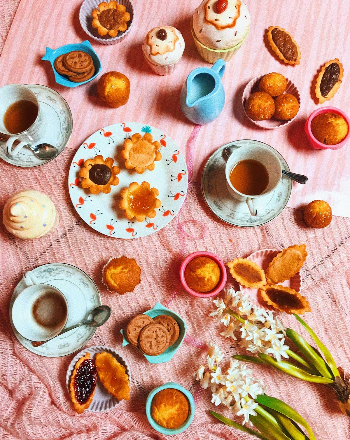 ricette dolci senza glutine merenda con le amiche