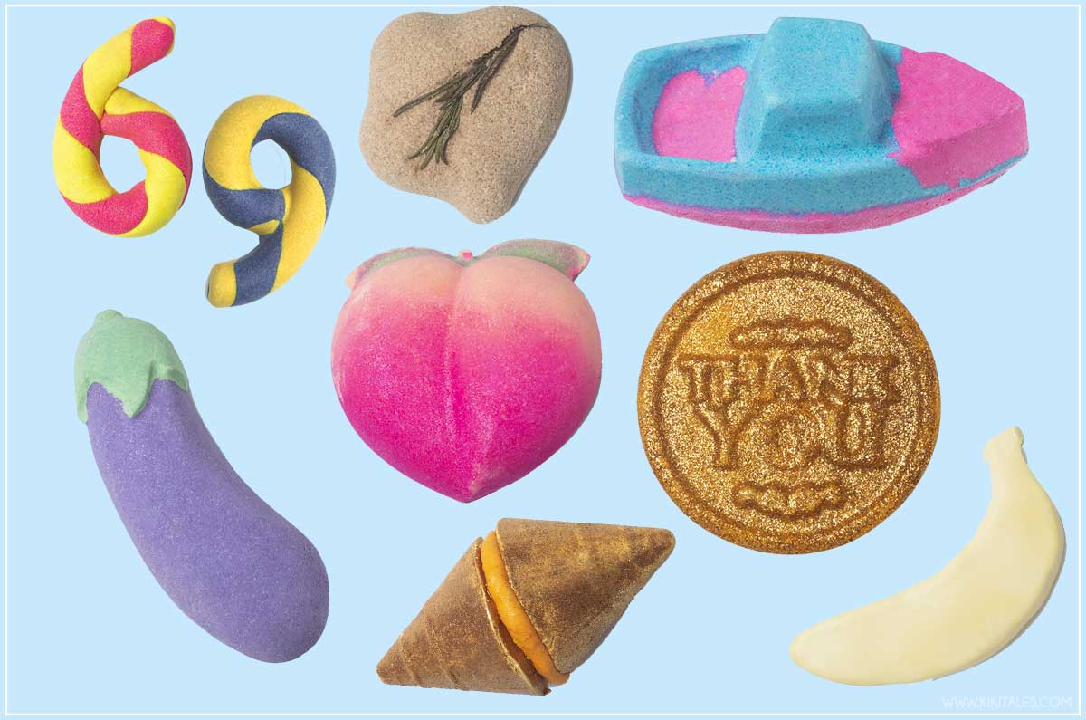 collezione emoji di San Valentino di Lush