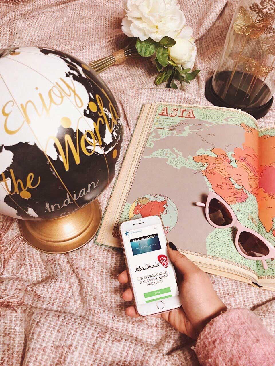 partire con idee per viaggiare alla scoperta di Abu Dhabi