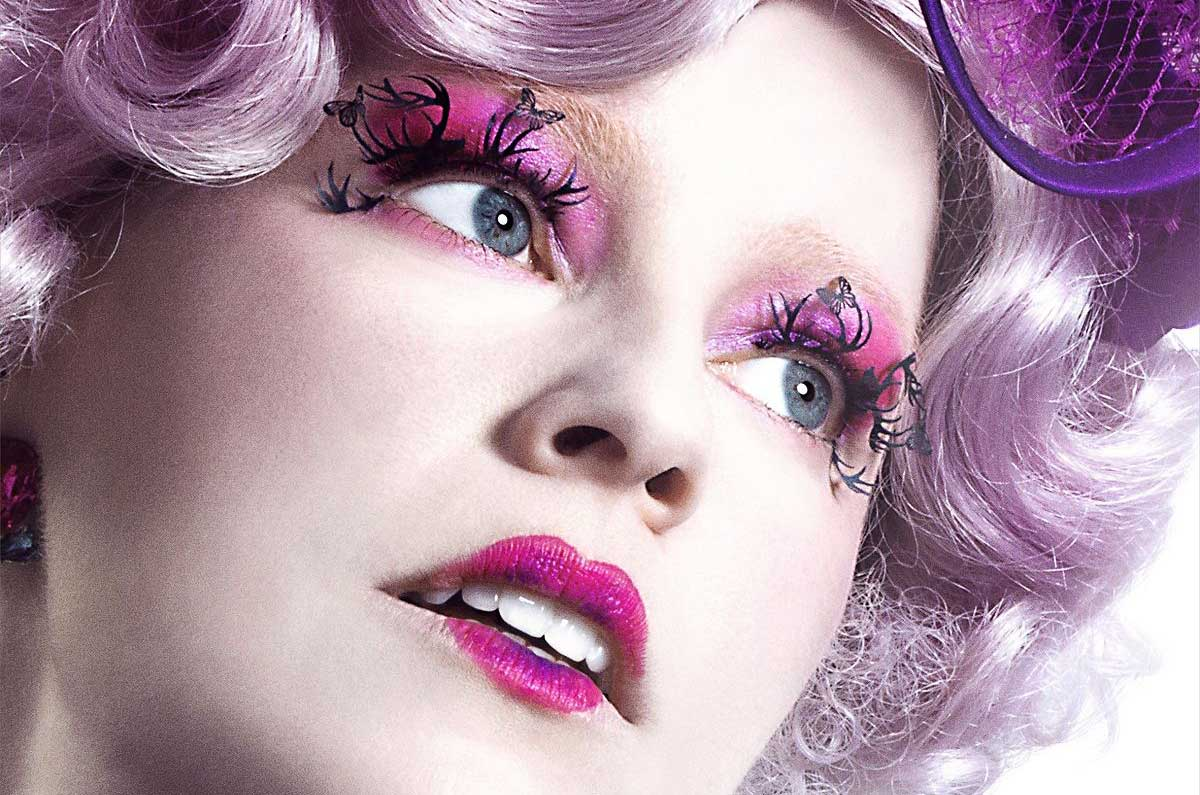 false lashes effie hunger games capitol city
