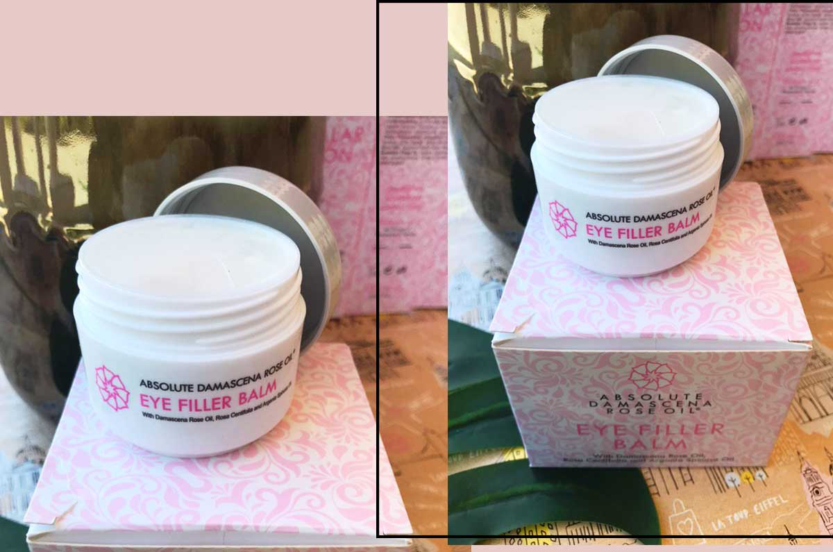 recensione Absolute Damascena linea olio Rosa Damascena: eye filler balm