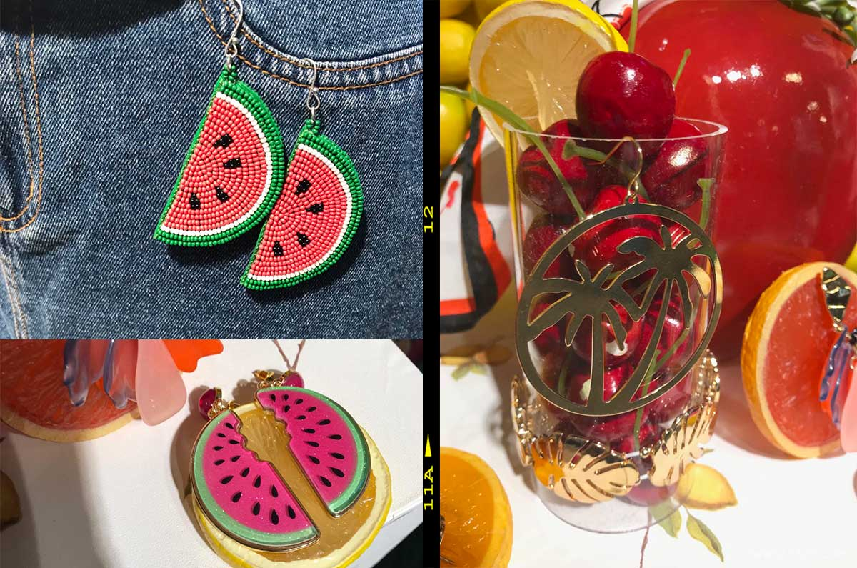 trend accessori primavera estate 2019 frutta e tropical vibes
