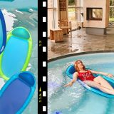 spring float di swimways per rilassarsi in acqua