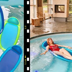 spring float di swimways per rilassarsi in acqua