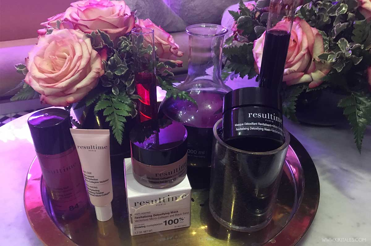 Beauty routine notte facile ed efficace con Resultime