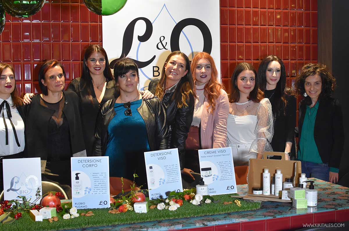 blogger e influencer invitate all'evento di Lo Bio