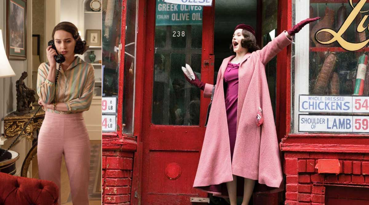 copia il look di Mrs Maisel: abiti rosa