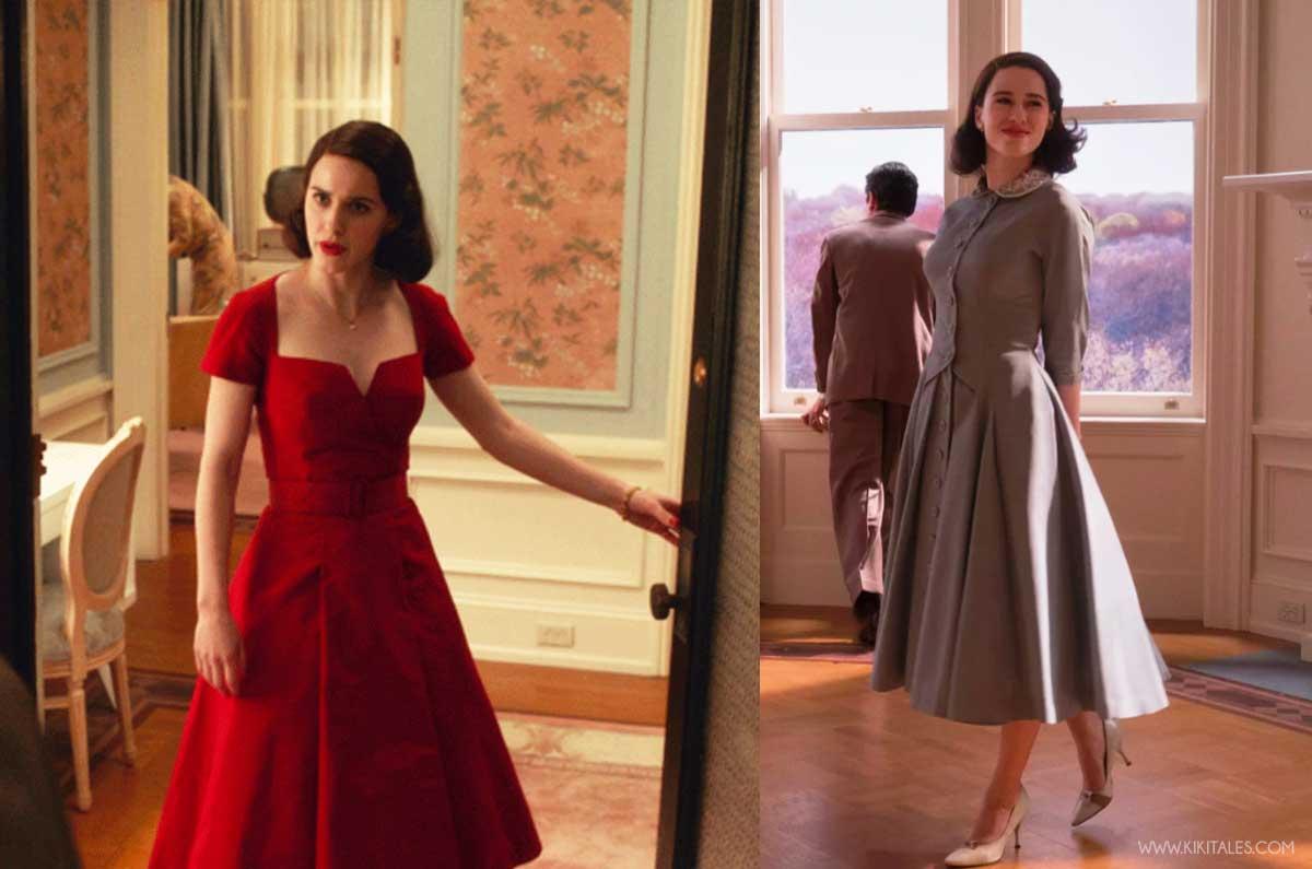 copia il look di Mrs Maisel: abiti vaporosi anni 50