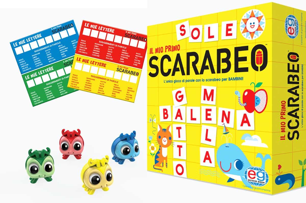 """giochi da tavolo per i più piccoli """"Il mio primo Scarabeo"""""""