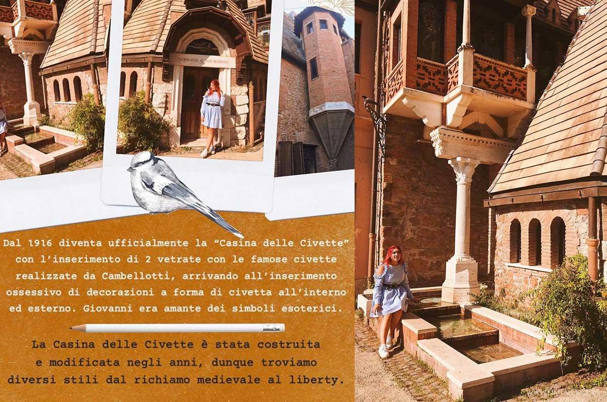 Dal medioevale al liberty, lo stile della casina delle civette di Roma