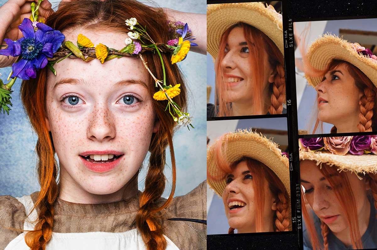 copia il make up di Anne with an E