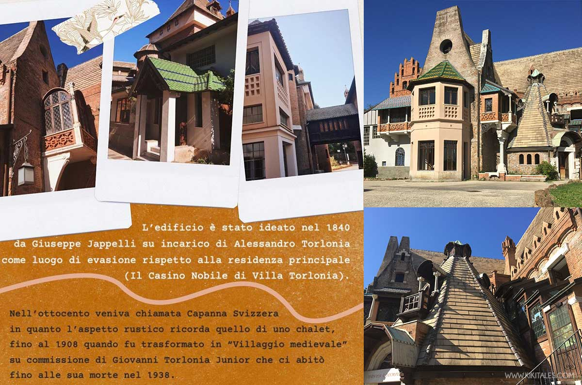 """Da """"villaggio medievale"""" a Casina delle civette"""
