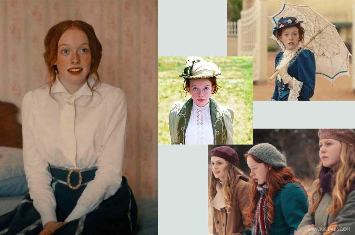 i look di Anna dai capelli rossi da adulta