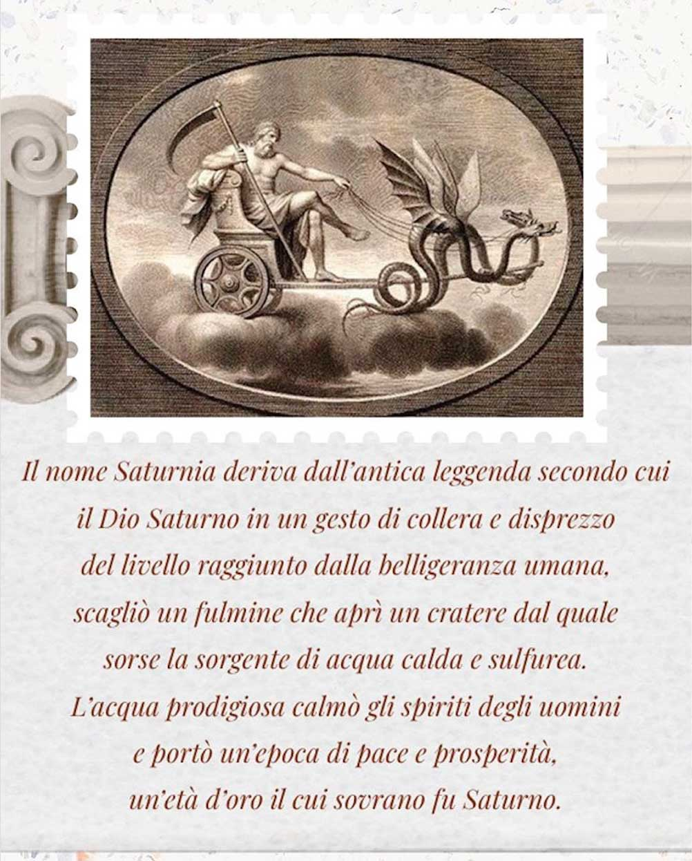 La leggenda delle Terme di Saturnia