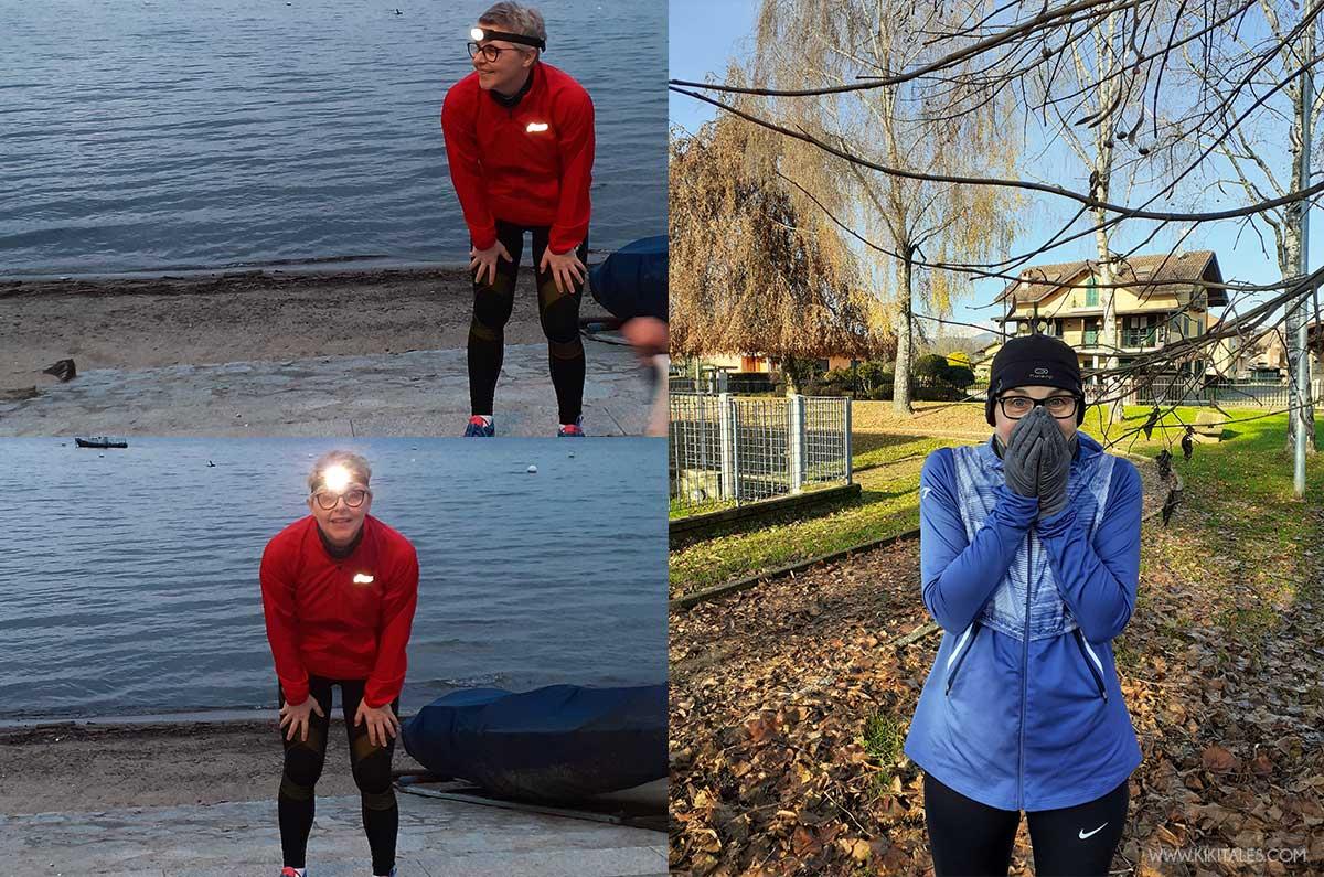 Scegliendo l'abbigliamento per andare a correre quando fa freddo non sottovalutate i colori