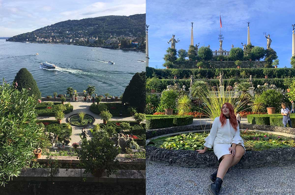 Il giardino del Palazzo Borromeo