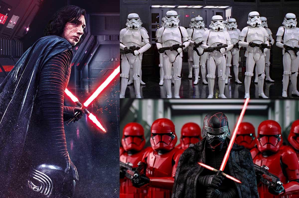 Il lato oscuro della forza Kylo Ren e gli Stormtrooper