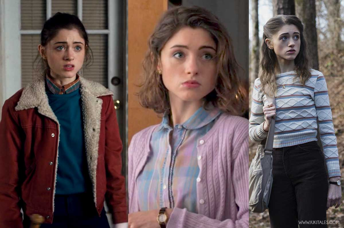 Nancy Wheeler look in Stranger Things