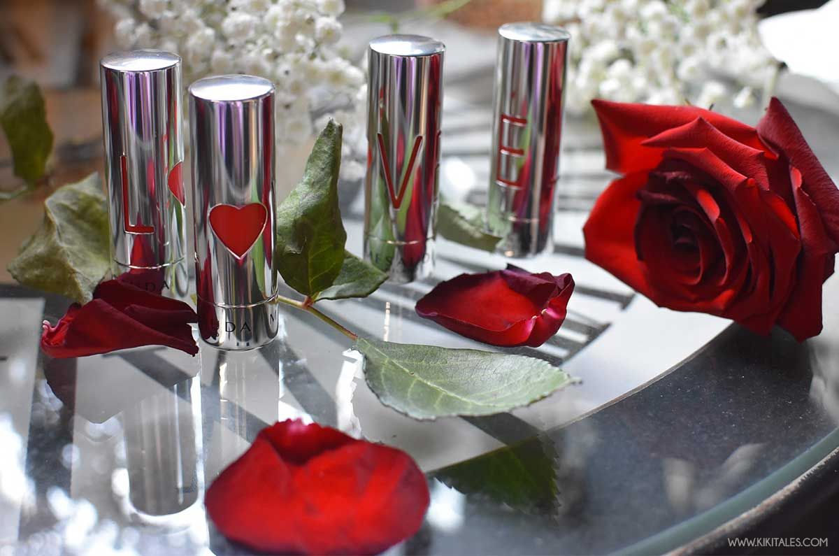 Packaging romantico rossetti One Love Mesauda