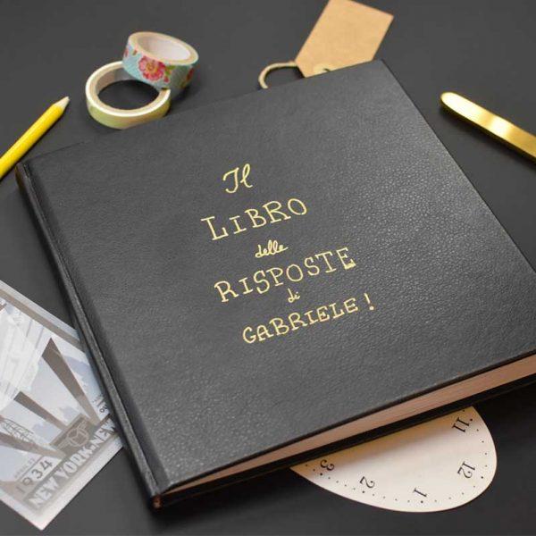 come creare un libro delle risposte personalizzato