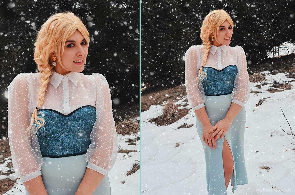 disneybound copia il look di elsa per un outfit portabile da tutti i giorni