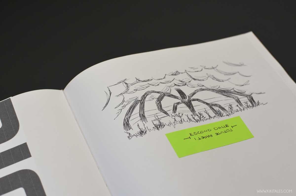 non avere paura di disegnare a mano libera