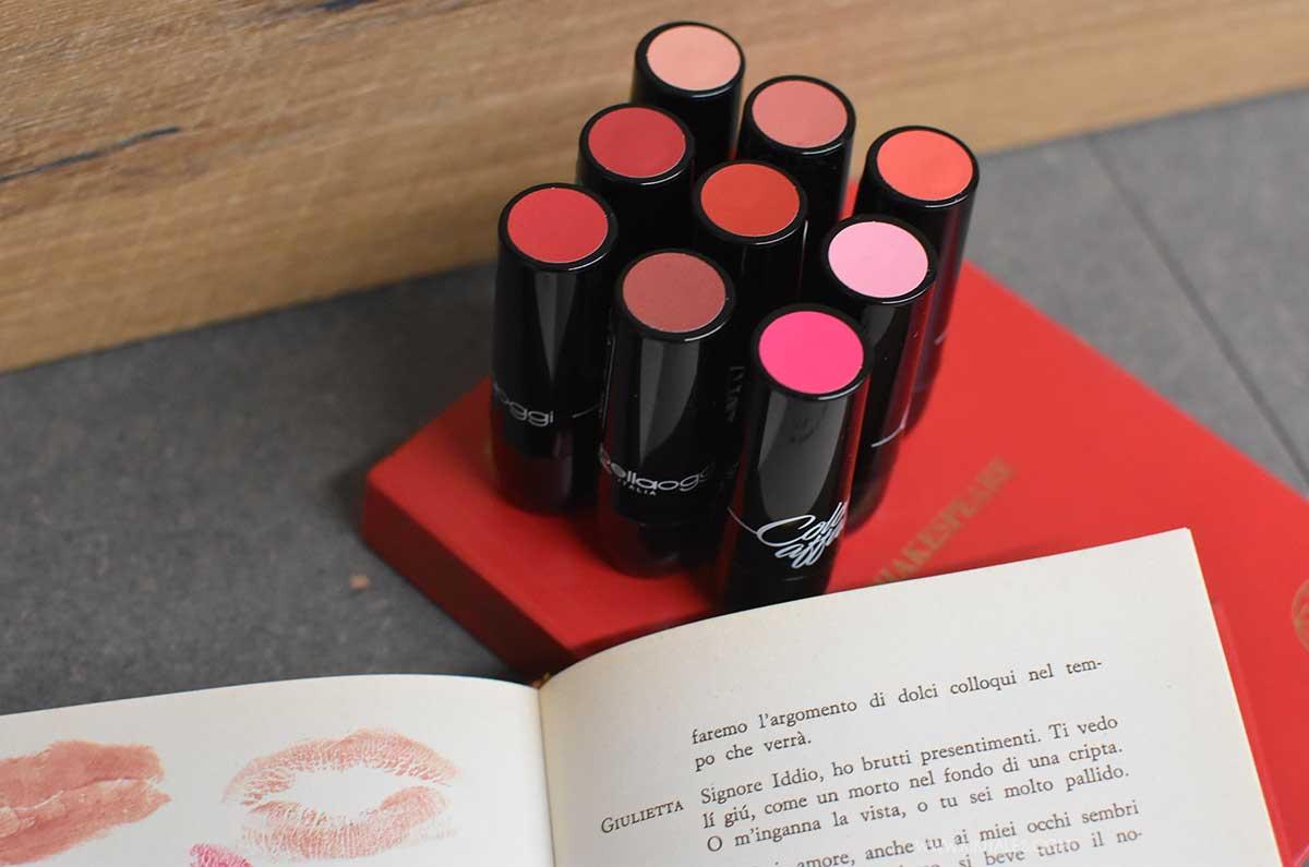 nove colori rossetti color affair bellaoggi