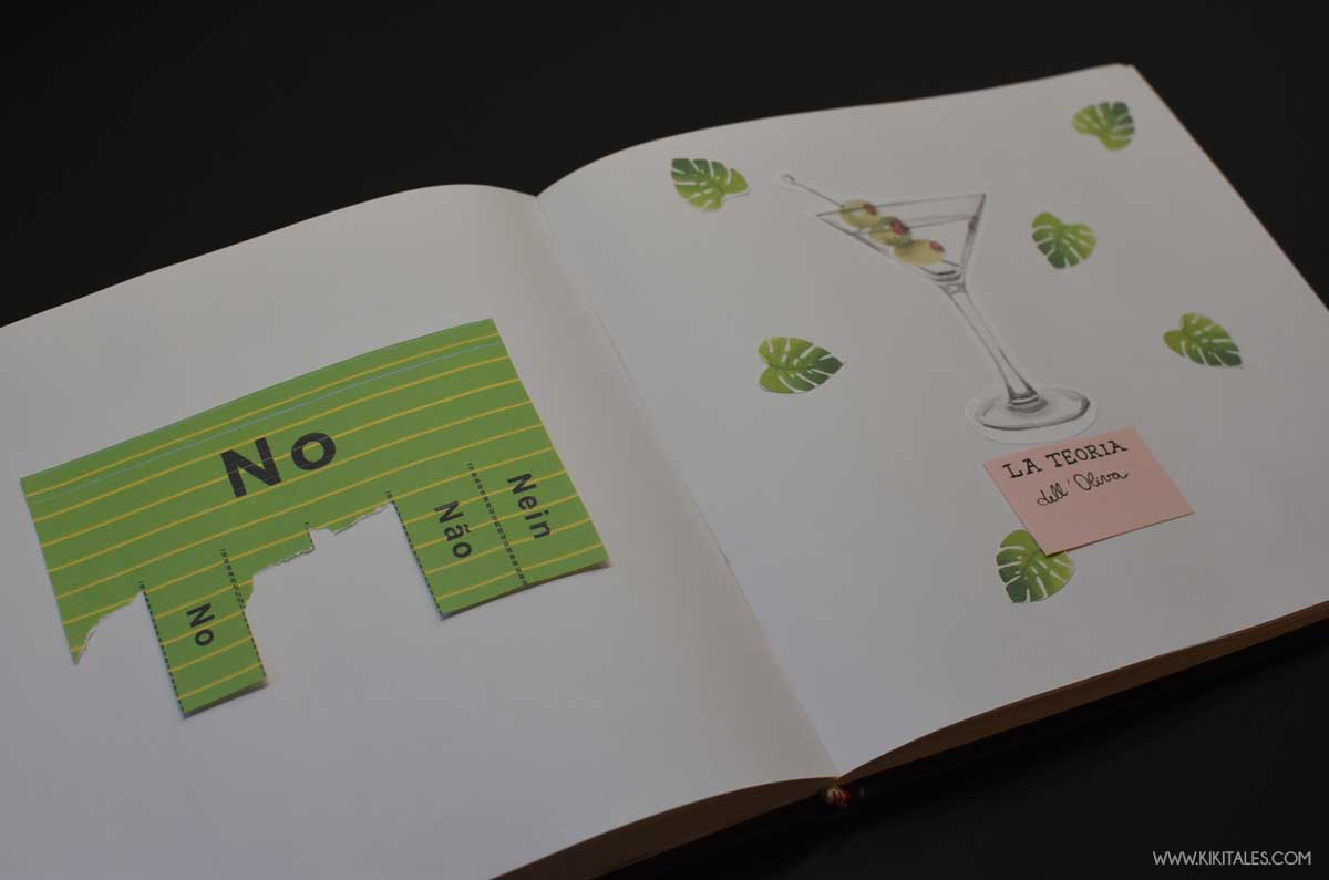 pagine personalizzate del libro delle risposte