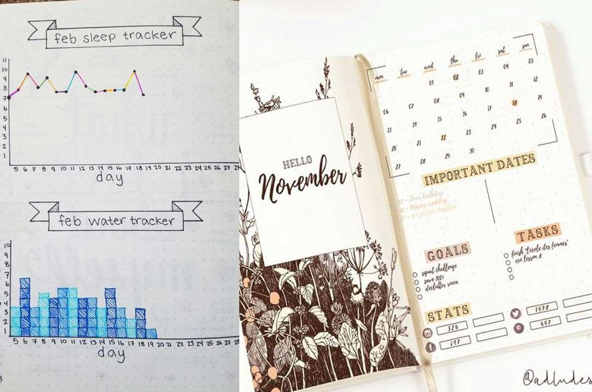 Bullet Journal è perfetto per chi ama la personalizzazione tra le agende per lo sviluppo personale