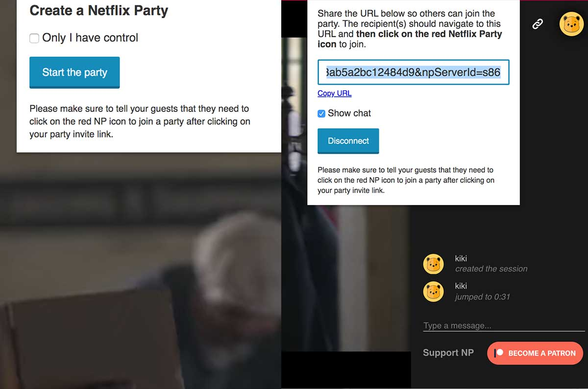 Come funziona Netflix Party
