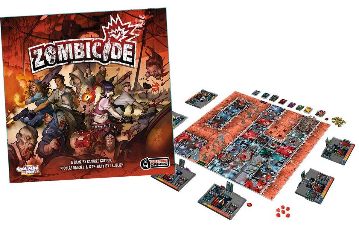 Tra i migliori giochi da tavolo originali Zombicide