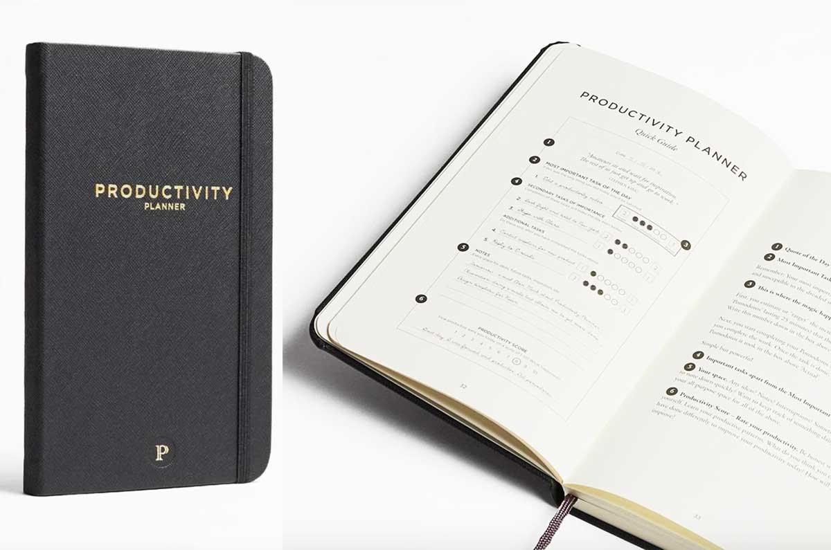 tra le agende per lo sviluppo personale productivity planner adatto a chi vuole un focus sul lavoro