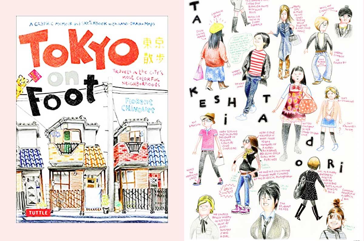 un libro per esplorare Tokyo a piedi