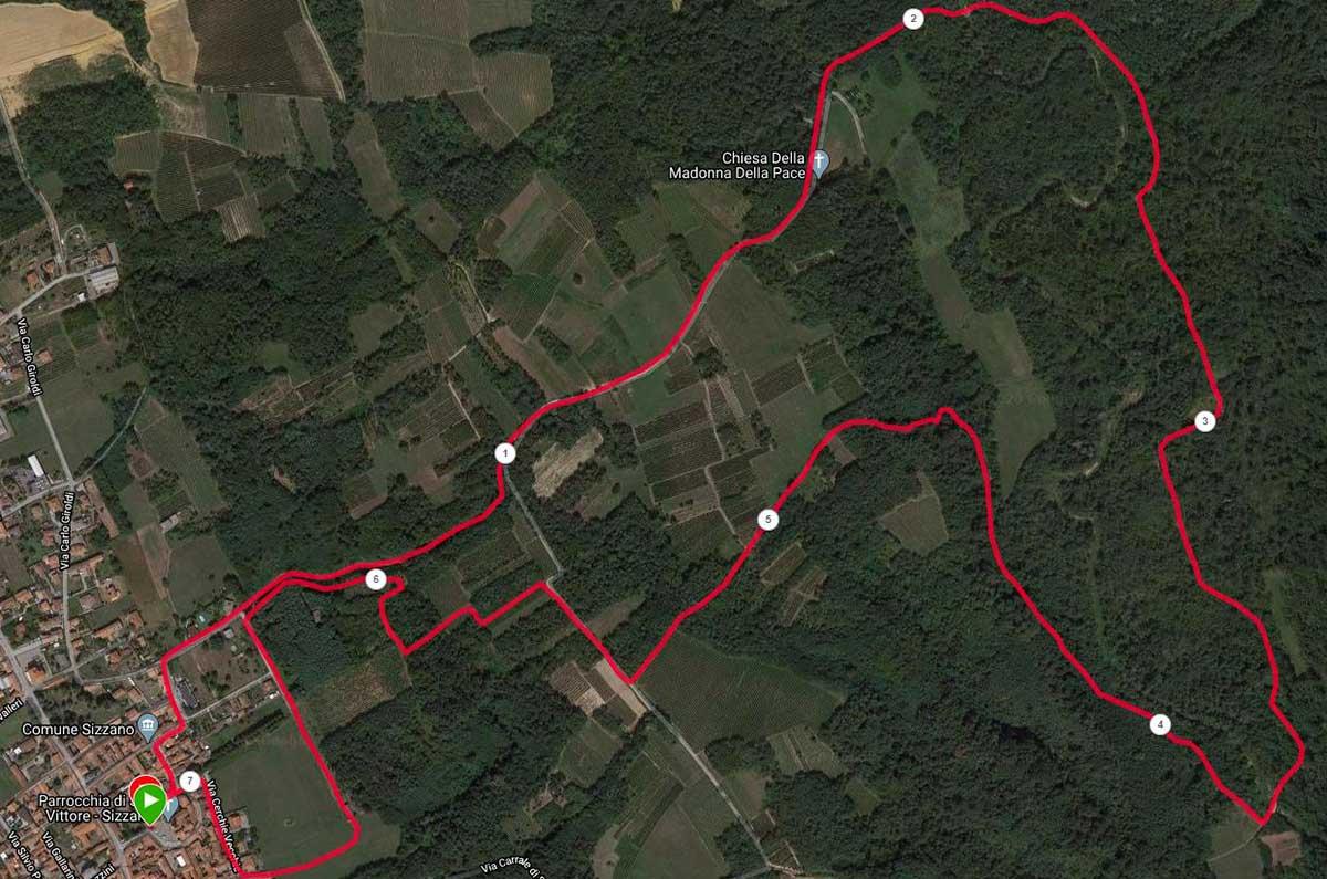 Correre nella natura a Novara