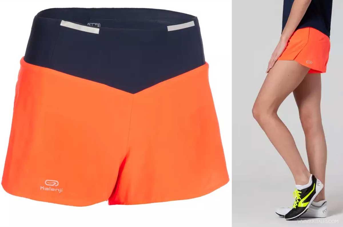 pantaloncini da corsa corti colorati