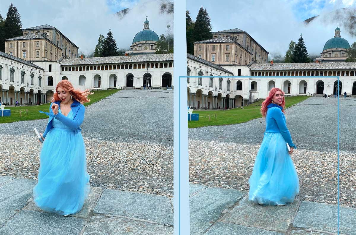 Cosa indossare sopra un abito lungo azzurro da principessa economico per una cerimonia serale elegante?