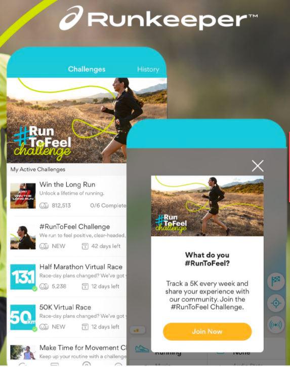Come si partecipa a una corsa virtuale? Con le app!