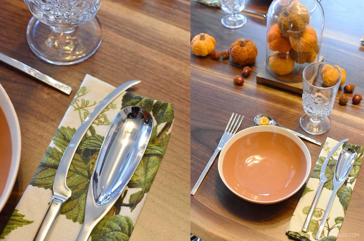 Le posate di Pinti Inox per decorare a tavola di Halloween